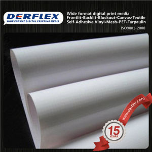 Blockout de doble cara tejido revestido de PVC para la impresión digital