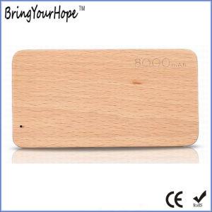 8000mAh (Banco de potencia de diseño de madera XH-PB-222)
