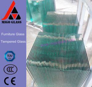 Limpar o vidro de móveis / mesa de jantar de vidro temperado Superior (margem de segurança)