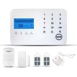 Allarme senza fili Sytsem di GSM di obbligazione domestica della tastiera di APP/PSTN/GSM/Touch