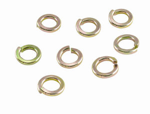 Fixation en acier inoxydable de verrouillage/rondelle à ressort