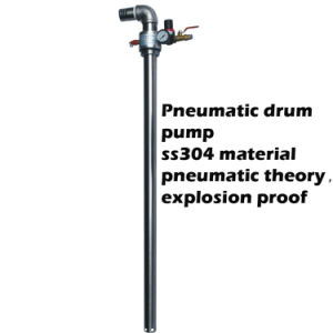 Ss304 de Pneumatische Pomp van de Trommel/de Pomp van het Vat van de Overdracht van de Olie