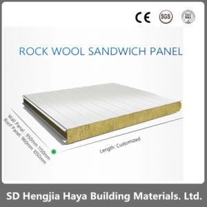 La construcción de paneles sándwich de la Junta de aislamiento de los paneles de lana mineral de aislamiento de lana de roca panel sándwich de techo