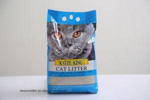 Super agglomérante Couleur de la nature de la bentonite la litière pour chat