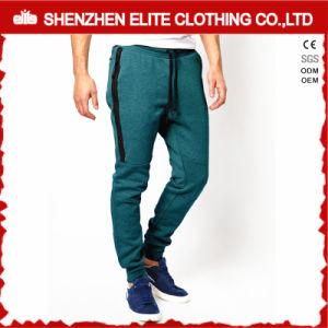 人(ELTJI-13)のための最も新しいデザイン高品質の緑のジョガーのズボン