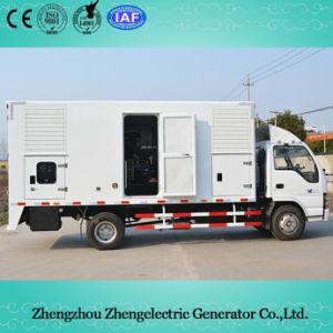 diesel van het Huis van de Aanhangwagen van 85kVA-750kVA 50Hz Volvo Mobiele ReserveGenerator