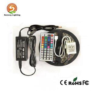 Tira de LED RGB/TIRA DE LEDS de luz/tira de LED Flexible (SW-SMD RGB5050-60)