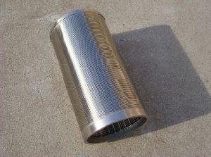 El tubo de tamiz circulares filtro