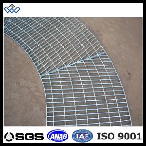 [إيس9001غلفنيزد] فولاذ يبشر درب [غرتينغ-19فتإكس3.5فت] يغلفن حديد حاجز مشبّك