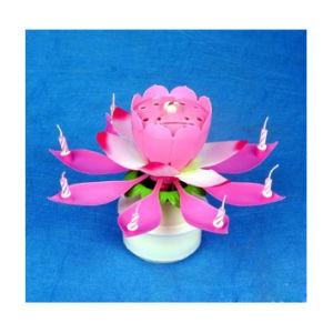 Nuova candela di arte di compleanno del fiore dell'OEM