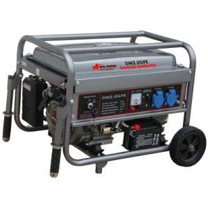 2,5 KW Recoil & démarrage électrique DM2.5GFE générateur à essence