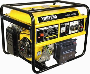 EPA、Carbのセリウム、Soncap Certificate (YFGC7500E1)のPortable 6000ワットのPower Gasoline Generator