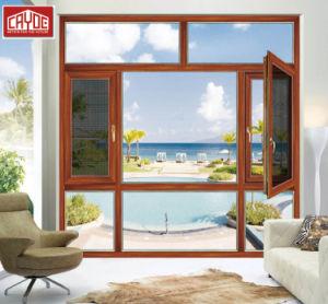 호주 표준 이중 유리를 끼우는 알루미늄 프레임 여닫이 창 Windows