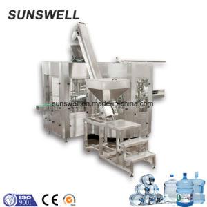 Automatisch Mineraalwater 3 van 5 Gallon in-1 het Vullen van de Was - het Afdekken Machine