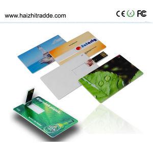 熱い販売の大きさのカスタムロゴクレジットカードUSB 2.0