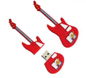 2015 Professional пользовательские Casun мягкий ПВХ гитара флэш-накопитель USB