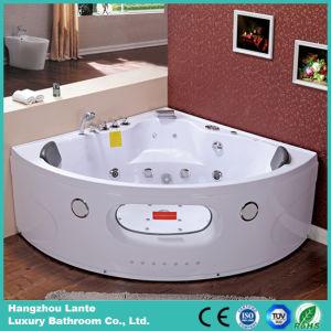 Bañera de los torbellinos del diseño moderno con el vidrio (TLP-638)