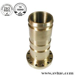 Partie d'usinage CNC de précision en aluminium