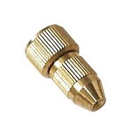 Orifício único de alta qualidade do bico de pulverização de latão (N° 67)