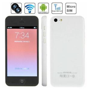 Smartphone (5C com a MTK6572 dual core, 3G e GPS)
