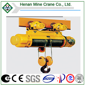 1t~32t Monorail Wire Rope Electric Hoist con Remote Panel Control