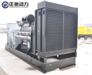 Hoogspanning 10500V 1200kw Perkins Generator