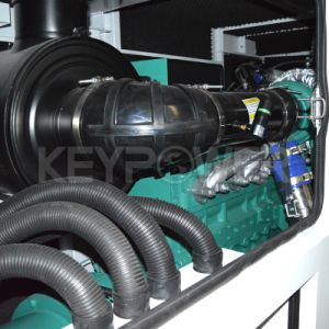 ATS를 가진 침묵하는 유형 디젤 엔진 발전기 375kw