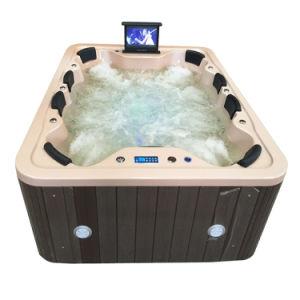 Un bain à remous Piscine rectangulaire lait Sexy massage spa extérieur