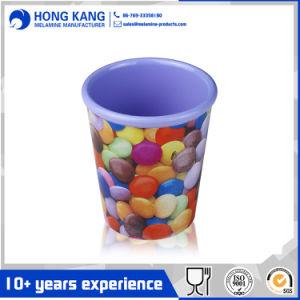 Simple impresión personalizada 10oz potable melamina Viajes taza de agua