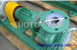 불소 플라스틱 (F46, PTFE, PFA 안대기)는 높게 부식성 산, Hci (IHF)를 위한 화학 공정 펌프를, 원심 펌프, 이동 펌프, 산업 펌프 일렬로 세웠다