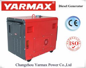 Yarmax 경제 침묵하는 디젤 엔진 발전기 공기에 의하여 냉각되는 Genset Ym6700t