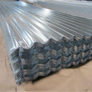 Lamiera di acciaio galvanizzata ondulata strato del tetto di Irion con il lustrino normale