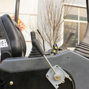 バックホウの小型掘削機の小さい地球移動装置