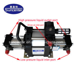 -90000 Suncenter 100 фунтов на кв. дюйм воздуха жидкостного насоса с приводом от