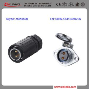 Cnlinko Waterproof IP67 2pin Power ConnectorかConnector Pins