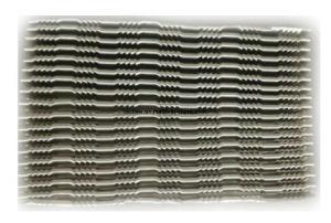 鋸歯状にされた波状の熱交換器のクーラーのラジエーターのひれ