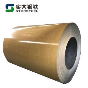 PPGI Printech imprimé imitation bois PPGI bobine d'acier prépeint