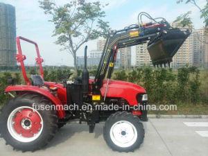 55kw 4륜 구동 농장 트랙터 (75HP, 택시를 가진 4WD)