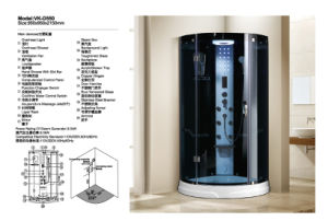 En Alemania caliente ducha de vapor (D550)