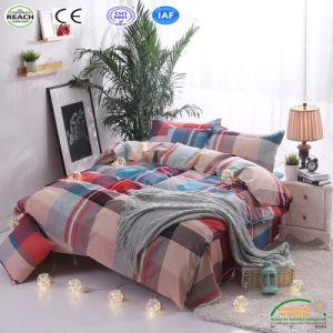 羽毛布団カバーシーツの枕カバーの大人の寝具の寝具は3/4PCSをセットする