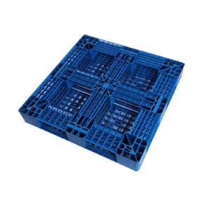 Novo Design 1100*1100 paletes de plástico de HDPE Grade reticular de Produtos Têxteis
