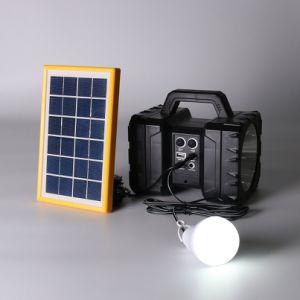La energía solar/USB recargable linterna LED Lámpara Linterna Luz caminatas Camping