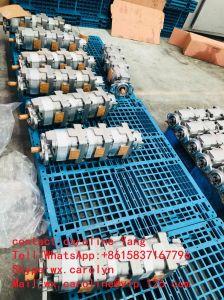 Komatsu cargador de la fabricación de OEM 705-55-34181. Parte de una auténtica bomba de engranajes 705-55-34180 terremotos de movimiento de tierra Maquinaria de construcción piezas de repuesto