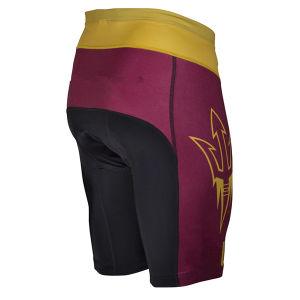 Mens-Fahrrad-Hosen, die Abnützung-Kurzschlüsse mit aufgefüllt komprimieren