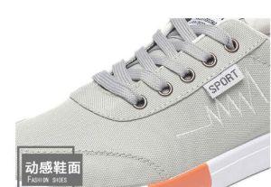 China pas cher nouveau style d'usine de chaussures en toile canevas occasionnel des hommes Sneaker
