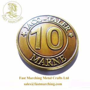 Moneta commemorativa su ordinazione dell'euro del sesso della medaglia di rettangolo della Russia di prezzi di fabbrica
