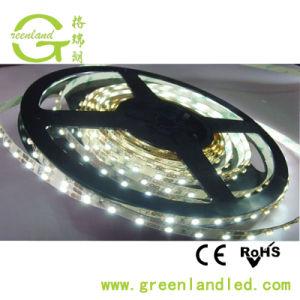Alta Luminosidade Única Linha 3528 60LEDs/Metro Marcação RoHS DC12V tira de LED