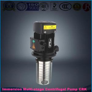 La lumière de la pompe centrifuge verticale Immersible Multi-Stage Crk