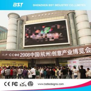 Haute résolution P8 SMD3535 l'extérieur de la publicité de service avant pleine couleur écran LED (Shopping Mall)