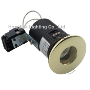 Messing BS476 Fire Rated IP65 Waterproof LED Downlight für Bathroom Ceiling Light